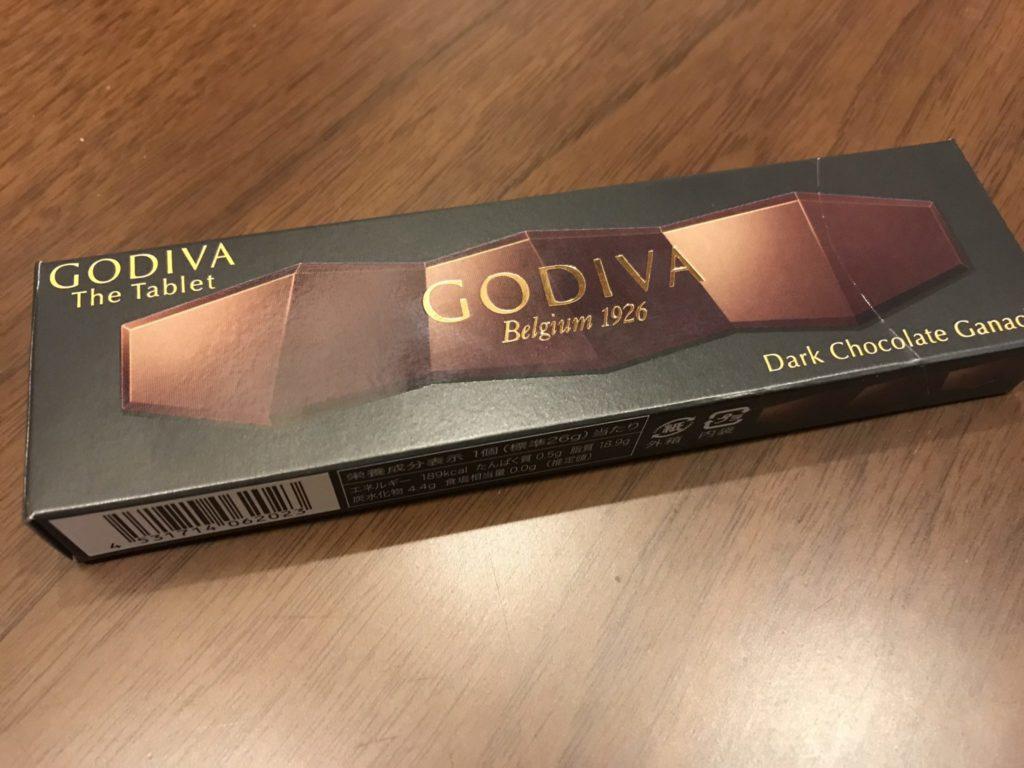 コンビニでGODIVAのチョコを発見!