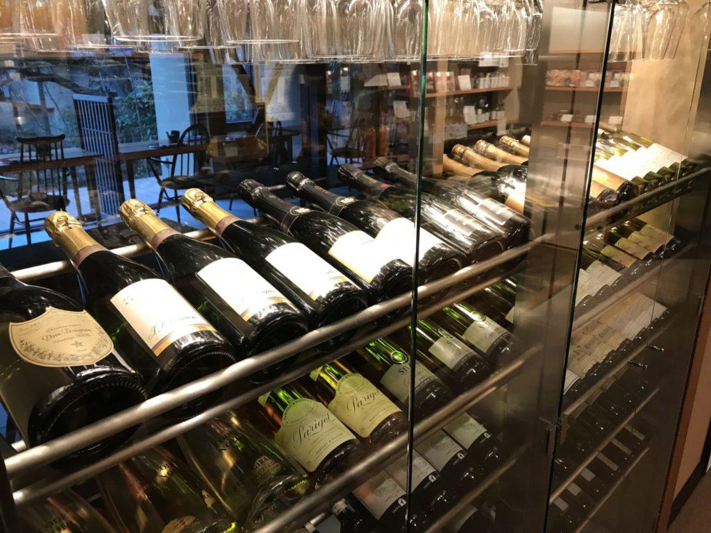 ワインも豊富です