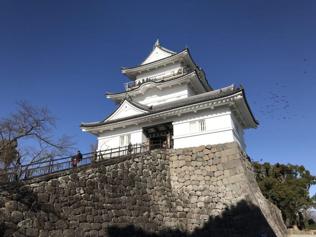 帰りは小田原城にぶらり