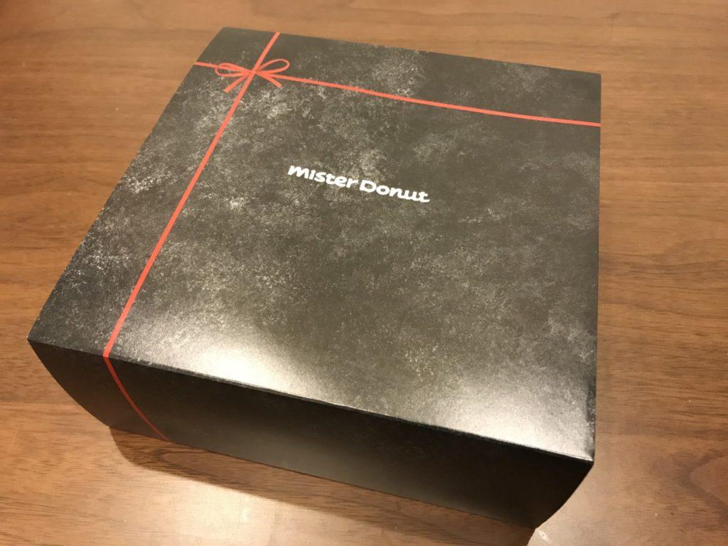 ミスドのショコラコレクションの箱