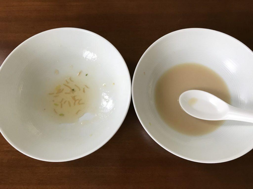 2皿完食!美味しくいただきました